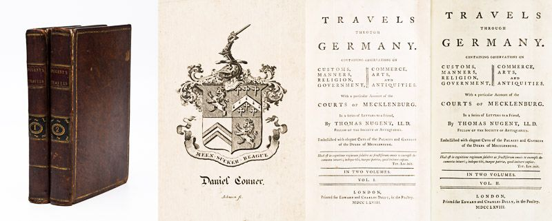 Nugent, Travels through Germany. Containing observations on Customs, Manners, Re