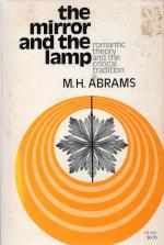 Abrams, The Mirror and the Lamp.