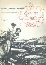 Partridge - Autumn Exhibition English Sporting Paintings 1960.