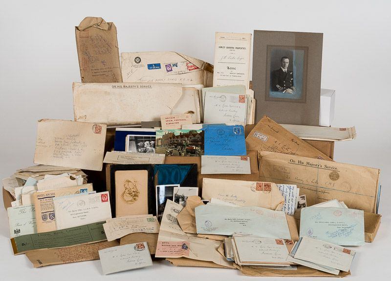 Luke, Large Archive / Collection of Sir Harry Luke's personal letters,