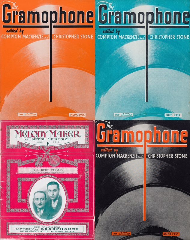 Mackenzie, The Gramophone / Collection of c.785 Issues of the influential classi