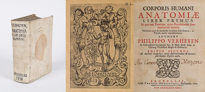 Verheyen, Corporis Humani Anatomiae [Two Volumes in One – Bound with: Supplement