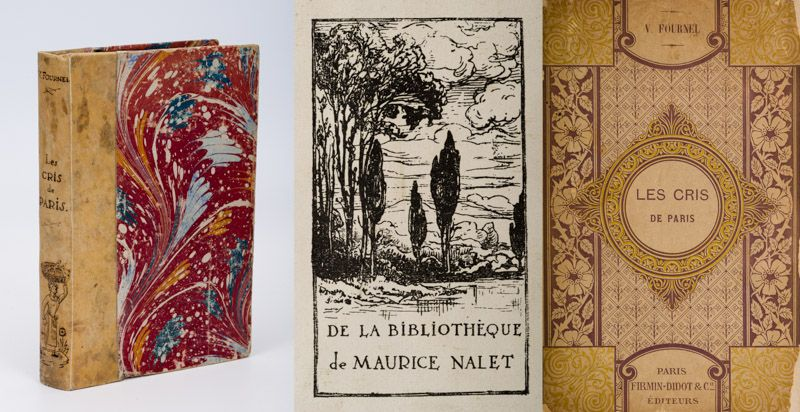 Fournel, Les Cris de Paris [Painted Binding].