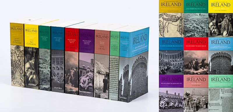 "Moody, Complete Set of nine (9) Volumes of ""A New History of Ireland""."