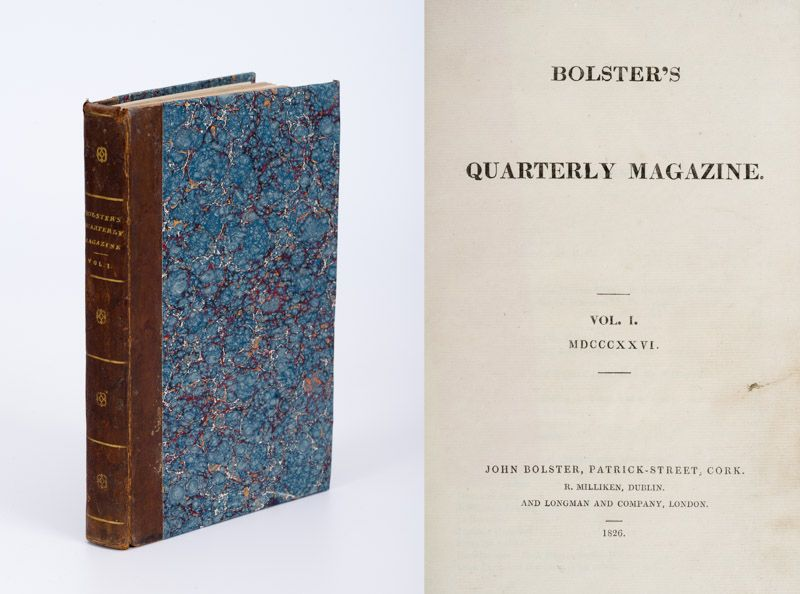 Bolster, Bolster's Quarterly Magazine. Volume I. No. I (February, 1826)  –  Volu