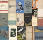 Collection of 27 stunning publications of the Czech Avantgarde, Czech Translations of French, Russian and German Literature and Poetry as well as wonderful czech avantgarde-typography of the 1930s and