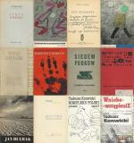 Collection of 12 rare publications of polish 20th century literature. Some publications printed in exile