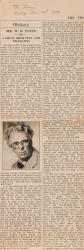 Yeats, Last Poems and Two Plays.